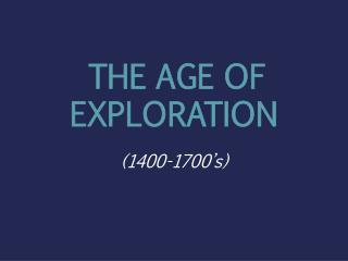 Mayer - World History - Age of Exploration