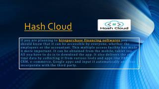 HirePurchase Financing softwares
