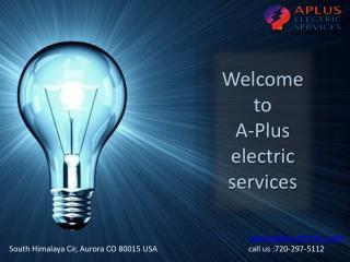 Electrical Repair Service denver