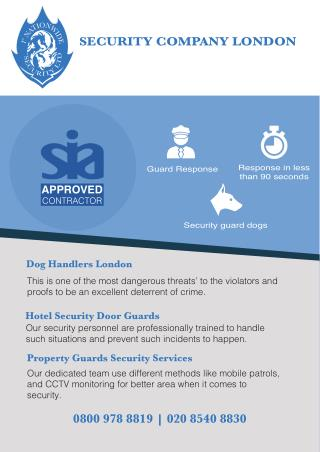 Property Guards Security Services