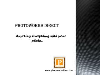 The professional photo editing company in London - Photoworks Direct