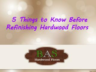 Best Types of Hardwood Floors