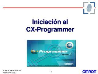 Iniciaci n al CX-Programmer