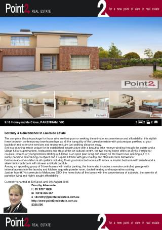 Serenity & Convenience House for sale in Pakenham