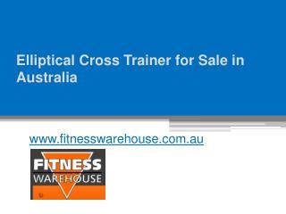 Elliptical Cross Trainer for Sale in Australia - www.fitnesswarehouse.com.au