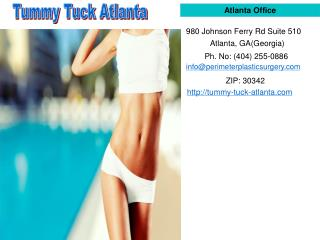 Tummy Tuck Surgeon in Atlanta