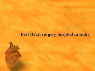 Heart surgery cost in india