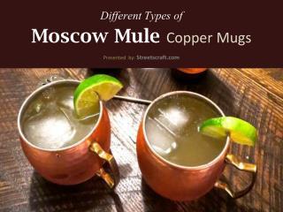 Best Moscow Mule Copper Mugs