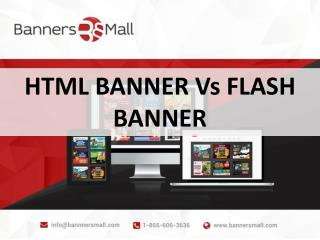 Html5 Banner Vs Flash Banner