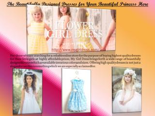 Flower Girl Dress – The New Trend Of This Season
