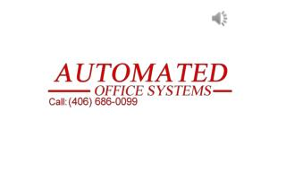 Automated Office Systems - Authorized Dealer for Canon, Samsung and HP