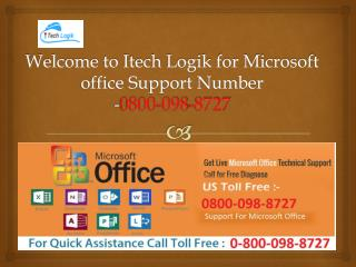 Call-0800-098-8727 Microsoft Office Support Number in UK