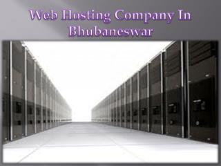 web hosting company in bhubaneswar
