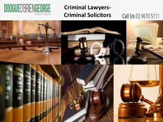 Criminal Lawyers-Criminal Solicitors