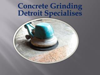Concrete Grinding Detroit