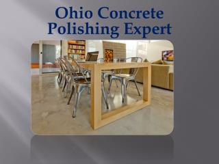 Ohio Concrete Polishing Expert