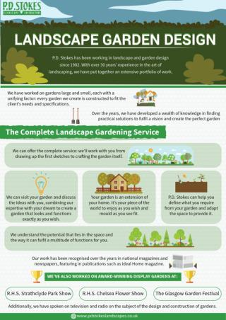 Find out best landscape gardening ideas.