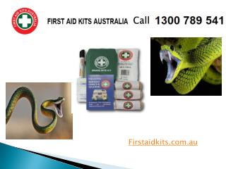First aid for Snake bite - First Aid Kits Australia