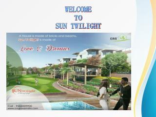 Sun Twilight Villas In Greater Noida