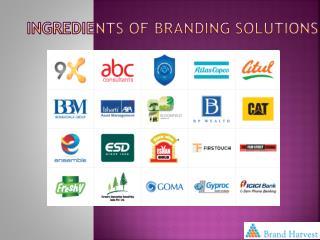 Ingredients of Branding Solutions
