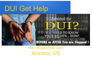 Arizona Extreme DUI