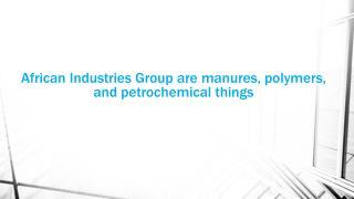 African Industries manufactured steel