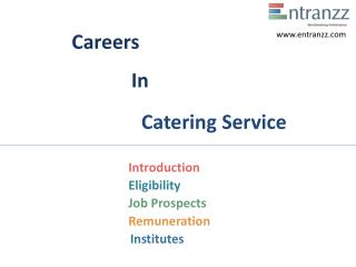Careers In Catering