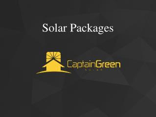 Solar Power System Packages