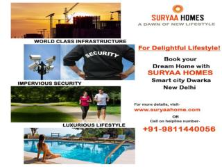Book 2BHK flats in dwarka k-1 zone with Suryaa Homes