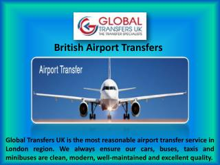 Cheap British Airport Transportation Services