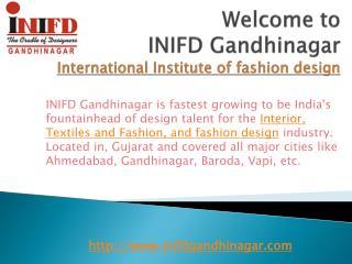 INIFD Gandhinagar - International Institute of fashion design