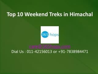 Top 10 Weekend Treks in Himachal