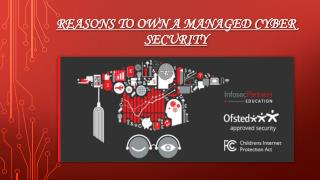 Reasons To Own A Managed Cyber Security