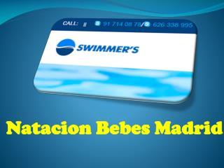 Natacion Bebes Madrid