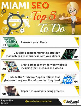 Miami SEO Top 5 To Do