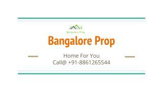 Bangalore Pre-launch Project 2016