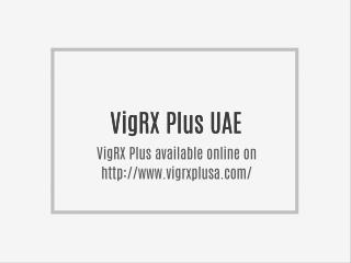 VigRX Plus UAE