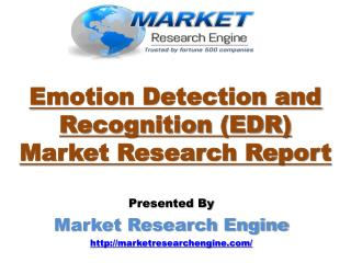 Emotion Detection and Recognition (EDR) Market will Cross USD 38.00 Billion by 2022 – by Market Research Engine