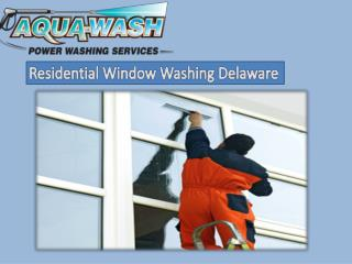 Residential Window Washing Delaware