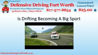 Is Drifting Becoming A Big Sport