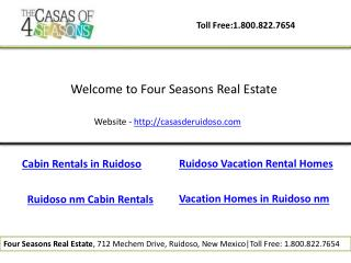 Ruidoso vacation rental homes