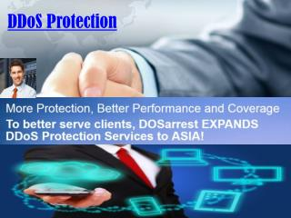 DDoS Protection Security Is Its Main Priority