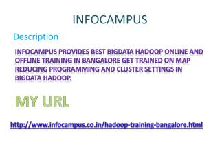 Hadoop Training Institutes Bangalore Marathahalli