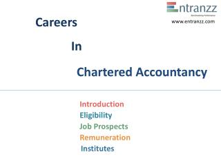 Careers In Chartered Accountancy
