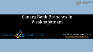 MICR code for Canara Bank Branches In Visakhapatnam