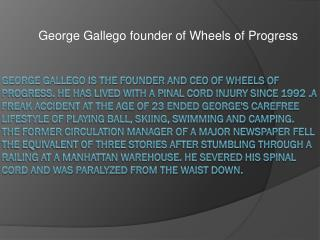 George Gallego Challenged Athletes Foundation
