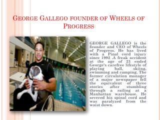 George Gallego Motivation