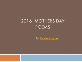 Mother's day 2016 images