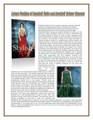 Anarkali Suits Dress online Shopping – Buy Anarkali Salwar Kameez online