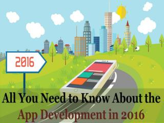 Read all the Important App Development Tips for 2016